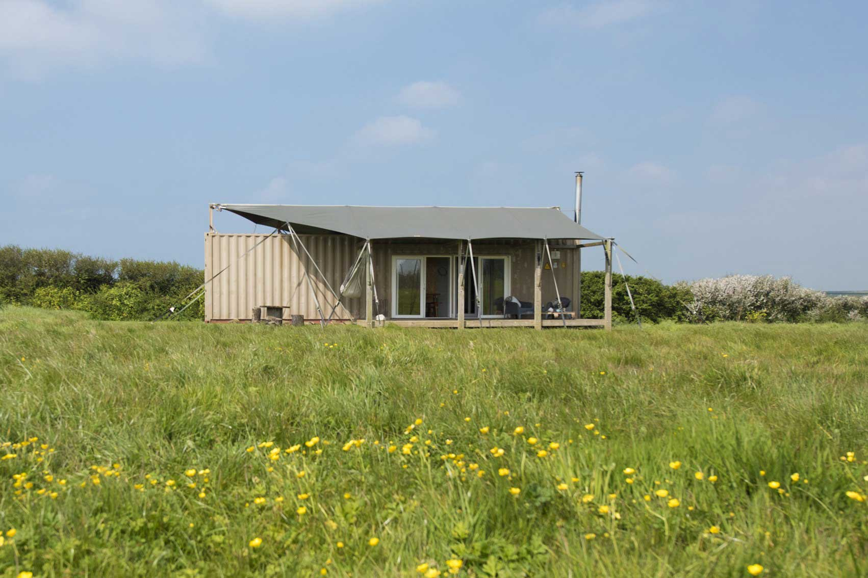 Container glamping