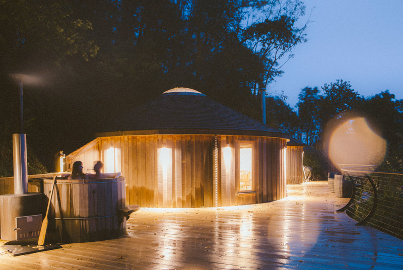 Glamping for New Year