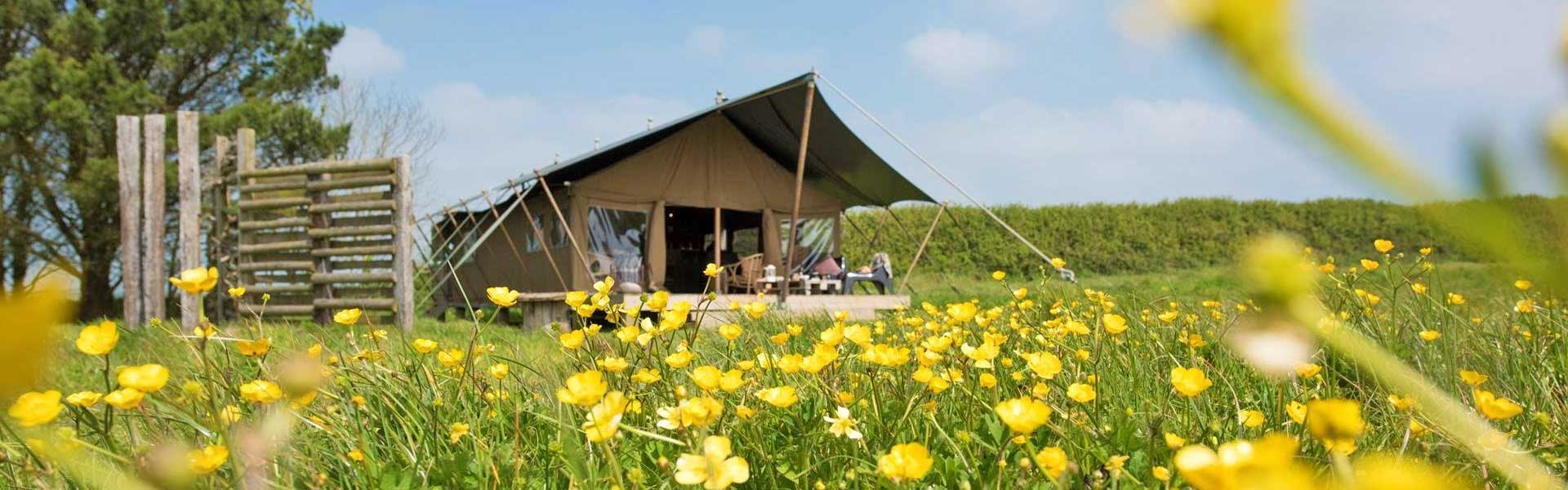 Classic Glamping - The wild in comfort and luxury.
