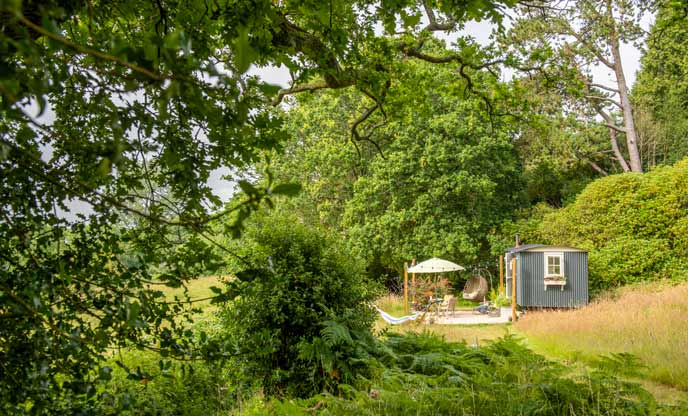 The health benefits of glamping in nature