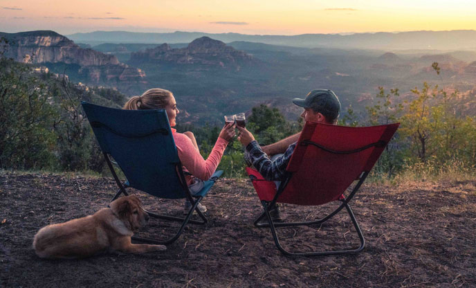 Tips for glamping with your dog