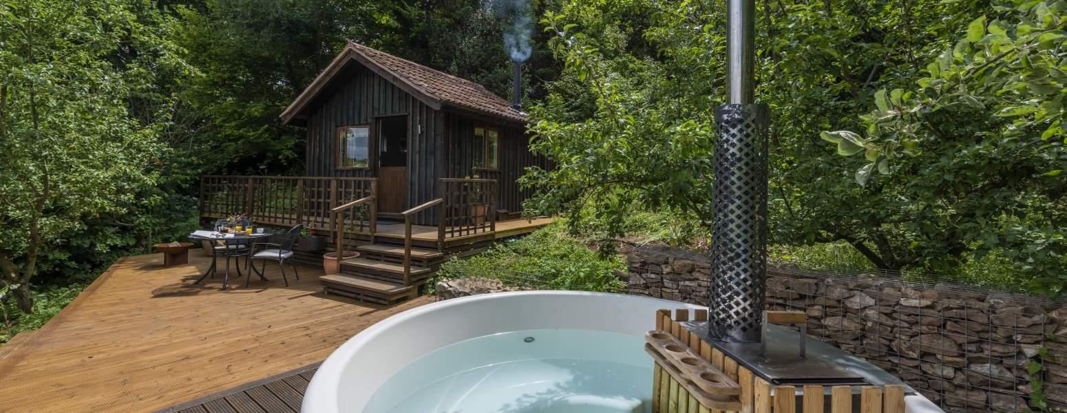Cabin glamping