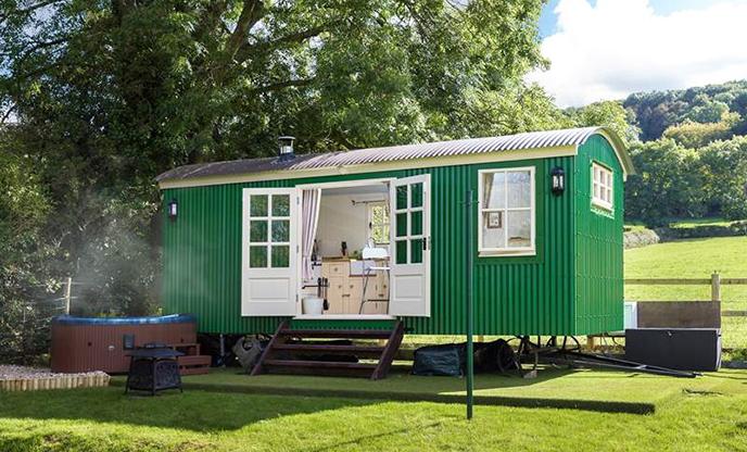The magic of Lady's Well Shepherd's Hut