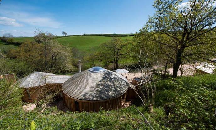 Little Coombe Cedar Yurts