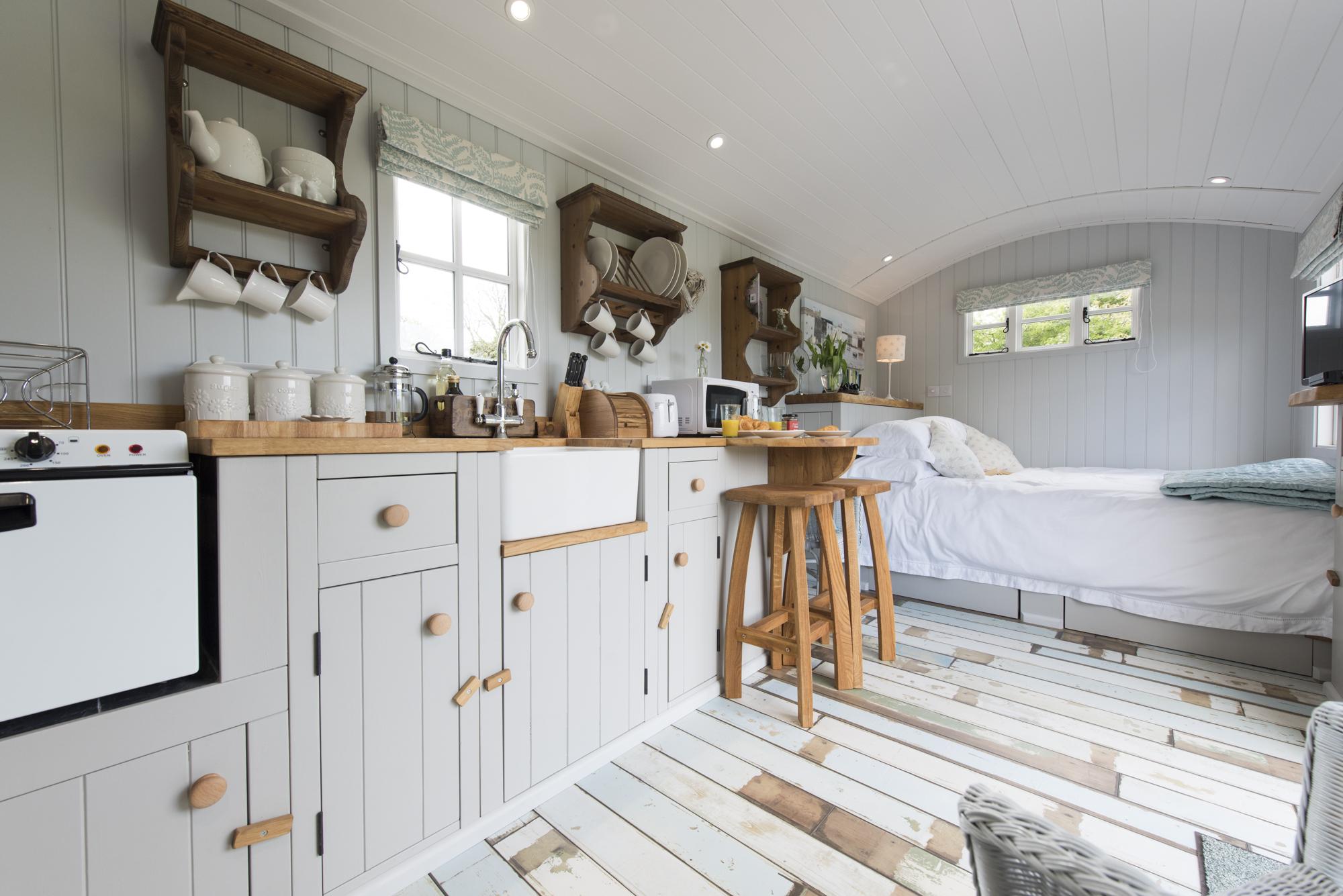 An Ashwood Shepherds Hut