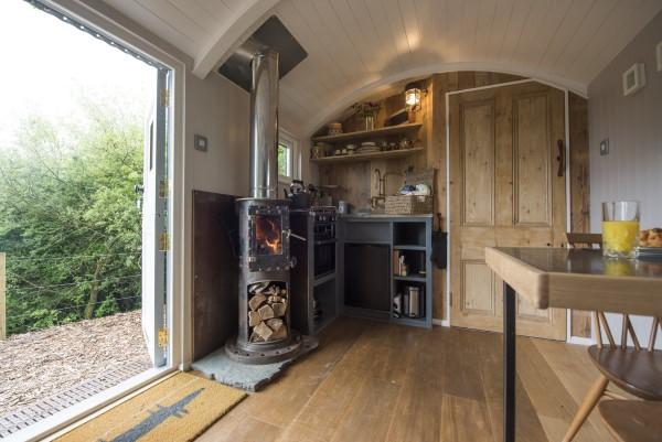Bespoke made shepherd's hut