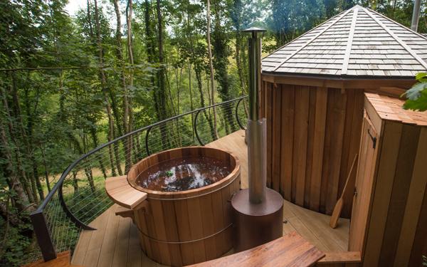 The gorgeous Owl Cedar Yurt