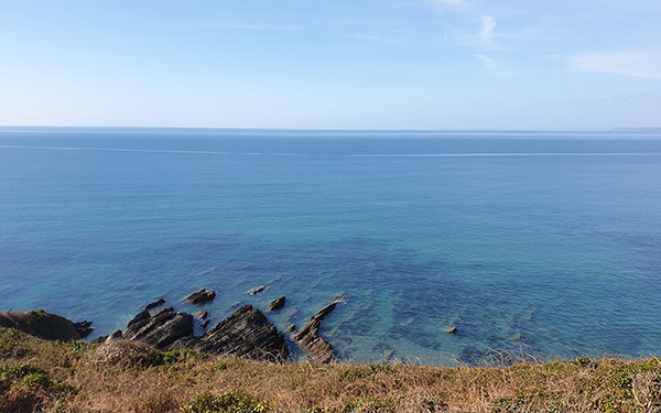 Sea view Cornwall