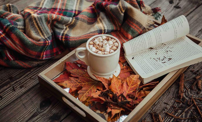 Reasons to go glamping in Autumn | Slowing down with nature